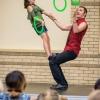 Matt juggling with his daughter!