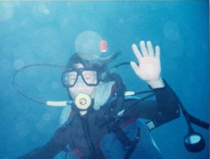 dive shot